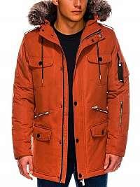 Originálna tehlová zimná bunda c410