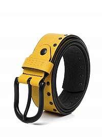 Pánsky žltý opasok B/00103