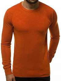 Pohodlný kamelový sveter TMK/YY01/8