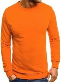 Pomarančová mikina BREEZY 171715 - XXL
