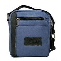 Športová modrá pánska taška WILD