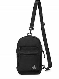 Štýlová čierna taška cez plece L/8030