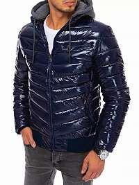 Štýlová granátová bunda na zimu