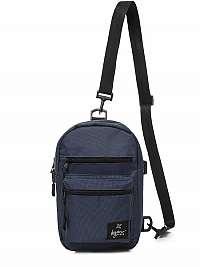Štýlová modrá taška cez plece L/8030