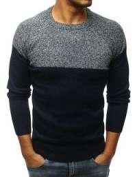 Štýlový sveter v granátovej farbe