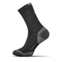Termo bavlnené ponožky čierne --46