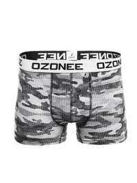 Tmavo-sivé boxerky OZONEE 0953 - M