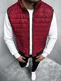 Trendová bordová vesta JS/MY77