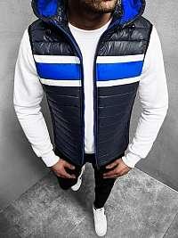 Trendová granátová vesta N/6700