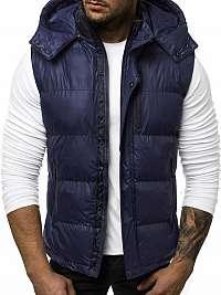 Trendy granátová pánska vesta N/5838