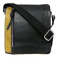 Trendy pánska taška čierna