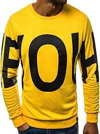 Úžasná žltá mikina OZONEE A/0968