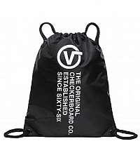 Vak s nápismi VANS MN LEAGUE BENCH BAG BLACK DISTORTION