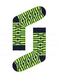 Výrazné zelené pánske ponožky U27