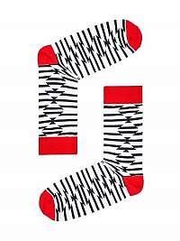 Zaujímavé biele ponožky U27