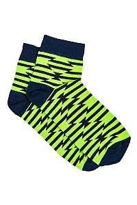 Zelené botaskové ponožky so vzorom U13