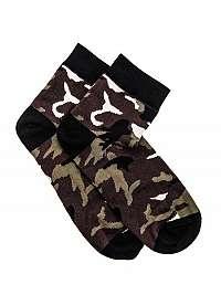 Zelené maskáčové ponožky U10