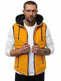 Žltá vesta s kapucňou N/6102Z
