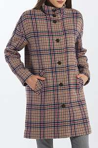 KABÁT GANT D1. CHECKED COCOON COAT