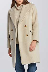 KABÁT GANT D2. OVERSIZED WOOL BLEND COAT