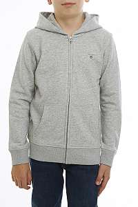 MIKINA GANT D1. THE ORGL FULL ZIP SWEAT HOODIE