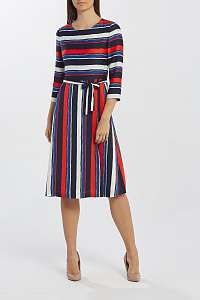 ŠATY GANT D1. PREPPY STRIPE FLARED DRESS