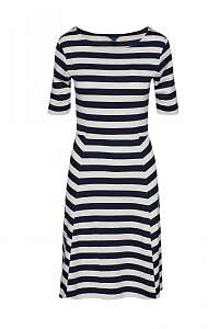 ŠATY GANT D1. STRIPED FIT AND FLARE SS DRESS