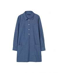 ŠATY GANT O. TP DOBBY CHAMBRAY SHIRT DRESS