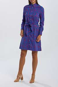 ŠATY GANT O1. MID ROSE SHIRT DRESS