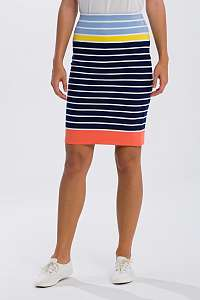 SUKŇA GANT O2. MULTISTRIPED SKIRT