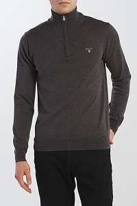 SVETER GANT COTTON WOOL HALF ZIP