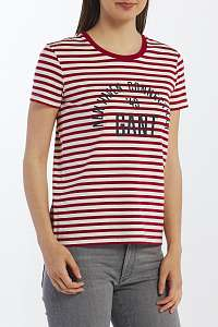 TRIČKO GANT D1. STRIPE GRAPHIC SS T-SHIRT
