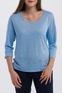 TRIČKO GANT O2. LINEN LONGER SLEEVE TOP