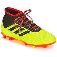 adidas  Futbalové kopačky PREDATOR 18.2 FG  Žltá