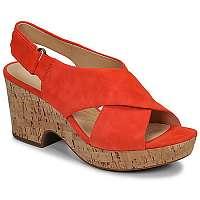 Clarks  Sandále MARITSA LARA  Oranžová