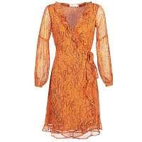 Cream  Dlhé šaty ANA  Oranžová