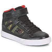 DC Shoes  Členkové tenisky PURE HIGH-TOP SE EV  Zelená
