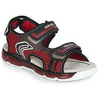 Geox  Športové sandále J SANDAL ANDROID BOY  Červená