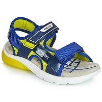 Geox  Športové sandále J SANDAL FLEXYPER BO  Modrá
