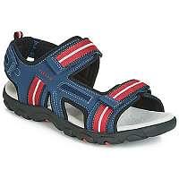 Geox  Športové sandále JR SANDAL STRADA  Modrá