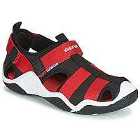 Geox  Športové sandále JR WADER  Čierna
