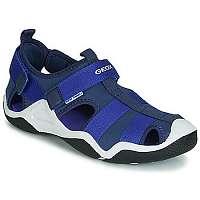 Geox  Športové sandále JR WADER  Modrá