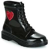 Love Moschino  Čižmy do dažďa RAIN  LOVE  Čierna