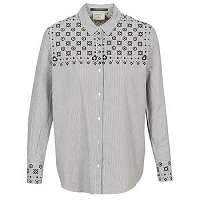Maison Scotch  Košele a blúzky BUTTON UP SHIRT WITH BANDANA PRINT