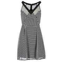 Morgan  Krátke šaty RAYA  Čierna
