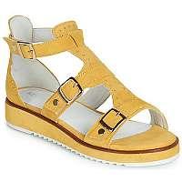 Regard  Sandále RIKAMA V7 ANTE OCRE  Žltá