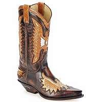 Sendra boots  Čižmy do mesta CHELY  Hnedá