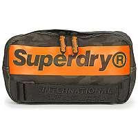 Superdry  Kabelky a tašky cez rameno INTERNATIONAL BUM BAG  Zelená