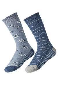 2 pack dámskych hrejivých ponožiek Mia