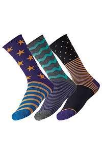 3 pack pánskych ponožiek Star